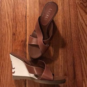 Ralph Lauren Wedges- like new